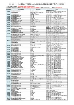 協力医療機関及び専門医療機関一覧(PDF:189KB)