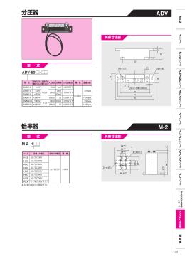 分圧器 倍率器 ADV M-2
