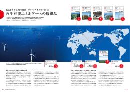 再生可能エネルギーへの取組み