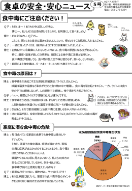 岐阜県:食品の安全・安心【生活衛生課】