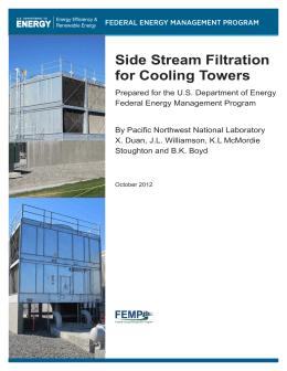 アメリカ合衆国 エネルギー省 (冷却塔へのサイドフィルター)