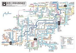 神奈川県鉄道路線図 - ひまわりデザイン研究所