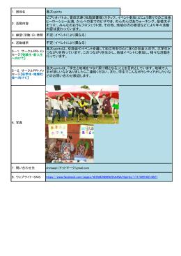不定(イベントにより異なる) 島大spirits ビブリオバトル、曽田文庫(私設