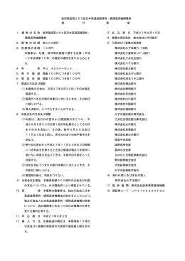 第256回 - 独立行政法人 日本高速道路保有・債務返済機構