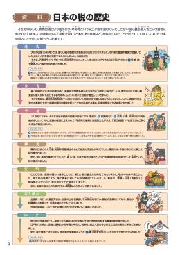 日本の税の歴史