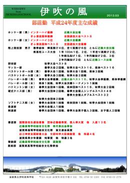 ホッケー部(男)インターハイ優勝 近畿大会出場 ぎふ清流国体優勝 全国