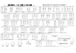 「函館いか踊り」の音楽に合わせ、子どもからお年寄りまで、みんなで