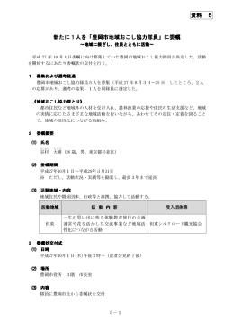 地域おこし協力隊(PDF文書)