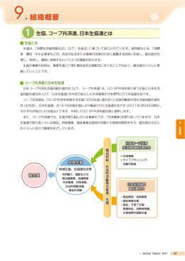 9.組織概要 - コープ共済