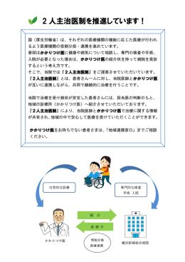 2 人主治医制を推進しています! - 医療法人社団 三喜会 横浜新緑総合