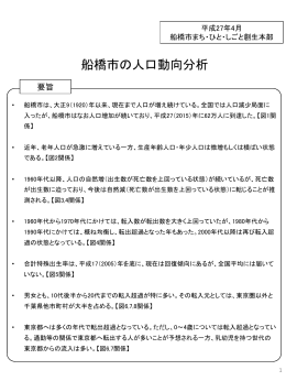 船橋市の人口動向分析(PDF形式:634KB)