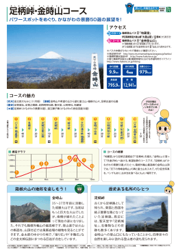 足柄峠・金時山コース