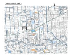 久留米市山本運動広場 位置図