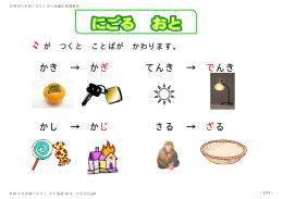 日本語テキスト(国語) 小1 ひらがな