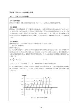 天井ユニットの試験・評価 - 国土技術政策総合研究所