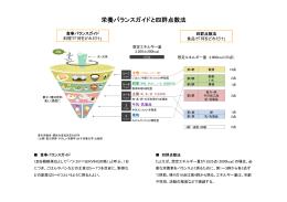 栄養バランスガイドと四群点数法