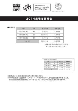 来場者数のご連絡(pdfファイル)