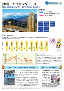 大野山ハイキングコース