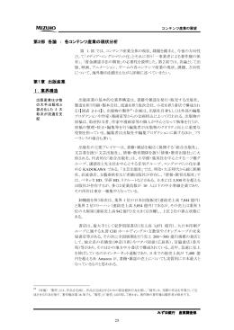 各コンテンツ産業の現状分析 第1章 出版産業(PDF/2668KB)