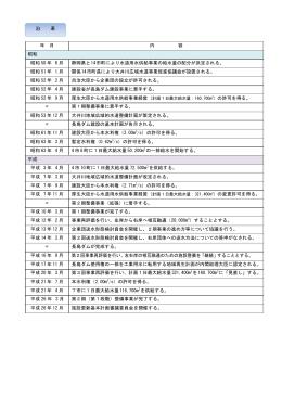 沿 革 - 静岡県大井川広域水道企業団