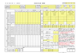 2014ー2015団体申込書