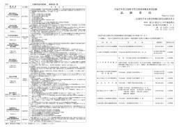 試 験 要 項 - 日本学術振興会