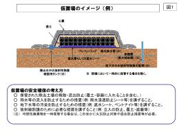 仮置場のイメージ(例)