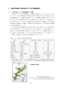 3. 沖縄の世界遺産「琉球王国のグスク及び関連遺産群」