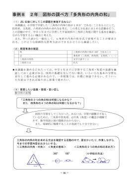 3 学校教育におけるJSLカリキュラム(中学校編)(数学科)4.授業事例