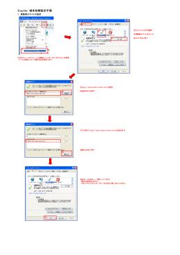 初期設定について(PDF形式 212KB)