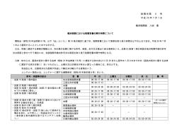 横浜税関における税関官署の開庁時間について