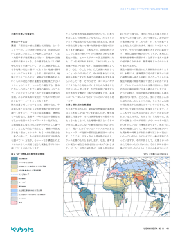 URBAN KUBOTA NO.11|44 ②植生変遷と気候変化 研究のすすめ方