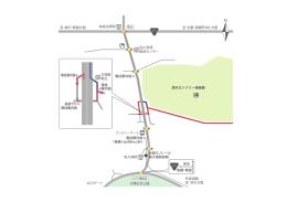 至:神戸・箕面方面 至:京都・高槻茨木IC方面 友紘会病院 清水 みのり橋