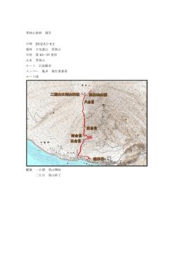男体山(5往復)