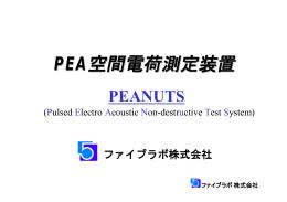 PEA空間電荷測定装置 - ファイブラボ株式会社
