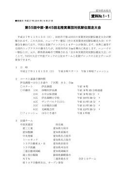 関連イベント等の情報、交通規制のお知らせ (PDF 1.7MB)