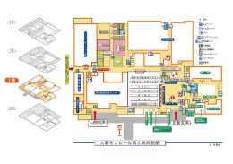 正面玄関 大阪モノレール阪大病院前駅 1 階