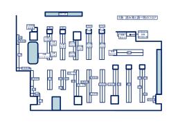 フロア図3階(PDF形式:38KB)