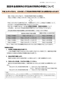 学生納付特例申請について(PDF:438KB)