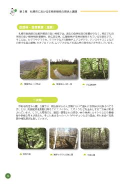 自然林・自然草原(湿原) 二次林