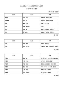役員名簿(PDF)