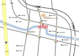 津幡 バイパス 七 尾 線 中央公園 津幡町役場 津幡郵便局 津幡中学校