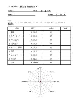 SSTアセスメント表 シートA [PDFファイル/184KB]