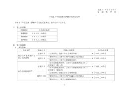 平成27年度 技術士試験合否決定基準(PDFファイル 59KB)