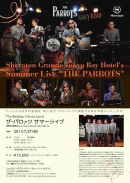 2014 PARROTS SUMMER LIVE