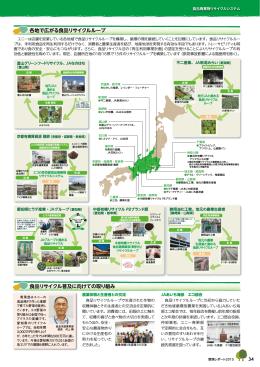 各地で広がる食品リサイクルループ 食品リサイクル普及に向け
