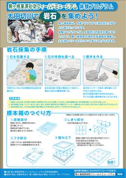 岩石標本づくり体験プログラム実施手順書