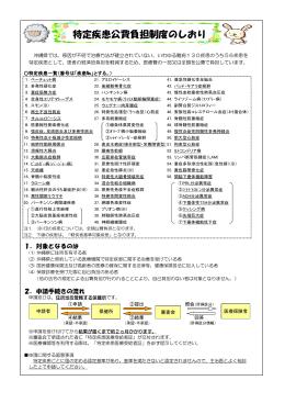 「特定疾患公費負担制度のしおり」(PDF:653KB)