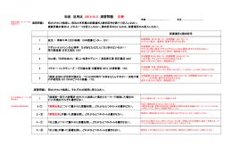 和泉 活用法 2015/6/2 演習問題 正解