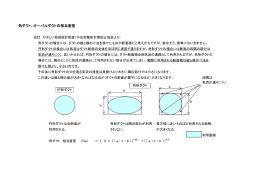角ダクト、オーバルダクトの相当直径